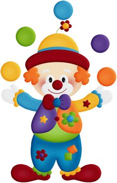 """Photo from album """"Birthday_Circus_BIG_Bundle"""" on - Circus Birthday, Circus Theme, Circus Party, Clown Party, Diy And Crafts, Crafts For Kids, Paper Crafts, Clown Crafts, Birthday Charts"""