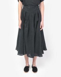 Wrap Skirt in Black – Mohawk General Store