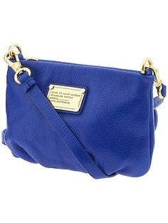 Marc by Marc Jacobs Classic Q Percy | Piperlime...love the cobalt blue but also love the coral and mint.