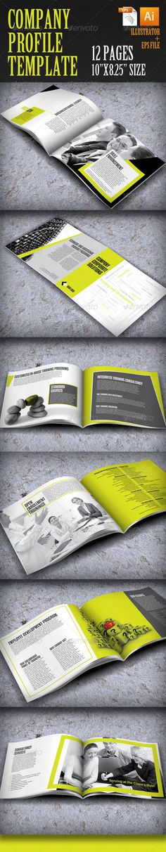 Company Profile V2 Company profile, Corporate brochure and Brochures - corporate profile template