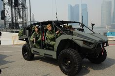 The Mk II Light Strike Vehicle of the Singapore Army.