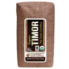 Organic Fair Trade Timor, 12-Ounce Bags (Pack of 3) , Ground coffee, Fresh Roasted Coffee LLC. - http://goodvibeorganics.com/organic-fair-trade-timor-12-ounce-bags-pack-of-3-ground-coffee-fresh-roasted-coffee-llc/