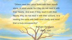 Nichiren Buddhism / Daisaku Ikeda Quotes / Gosho Lines