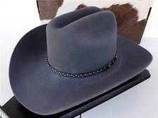 cowboy hat 7 1 2 gray in Fashion a275adc382d6