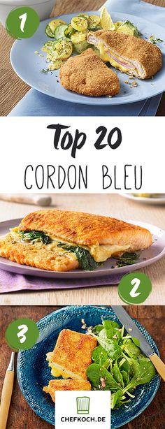 Cordon bleu - 20 raffinierte und klassische Rezepte