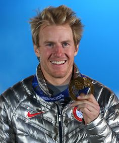 ALPINE SKIING MEN'S GIANT SLALOM: Gold medalist Ted Ligety of the United States