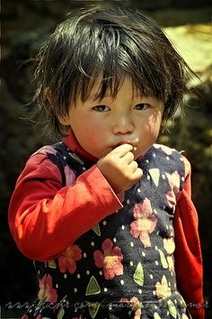 The heart of a child... Nepal