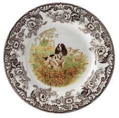 spode woodland hunting dogs.....love this pattern