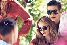 The rose rosa: Gucci Campaign SS 13