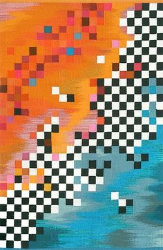 """Maj-Britt Mobrand -- Baik Baik in Bali,   Tapestry (2004),   42"""" x 72"""""""