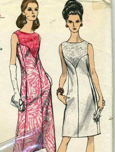 Vintage Vogue 7098 UNCUT Misses A Line Sleeveless by RomasMaison, $22.00