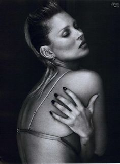 "Kate Moss - English Vogue Sexy Super Model 14""x19"" Poster"