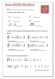 MUSIC: Theory Worksheets Pack. A bundle of 20 ready - to- use music theory worksheets with answer keys  $