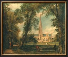 Salisbury Cathedral from the Bishop's Grounds, 1823-26 Giclee Print by John Constable at Art.com