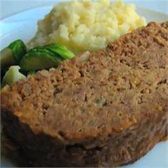 Savory Buttermilk Meatloaf  - Allrecipes.com Meatloaf Recipes, Beef Recipes, Cooking Recipes, Beef Meals, Healthy Recipes, Brown Sugar Meatloaf, Chef John Recipes, Classic Meatloaf Recipe, Kitchens