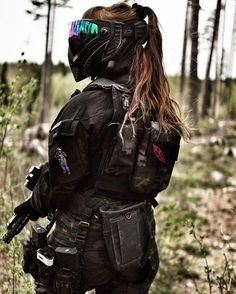 This website will definitely help you to improve your airsoft shooting accuracy and other airsoft skills that you will be needing in a game.  You will also find helpful guide to buy weapons and gears as we have reviewed airsoft rifles, protective gears and their brands as well. Paintball Gear, Airsoft Helmet, Full Face Mask, Warrior Girl, Military Women, Cosplay, Couple Aesthetic, Body Armor, Games For Girls