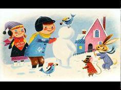 """The Littlest Snowman"" read by Captain Kangaroo (Bob Keeshan)"