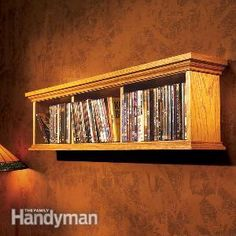 How To Build A Wall Cabinet For Dvds