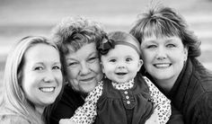 four generations family pictures - Google Search Photography Lessons, Family Photography, Photography Poses, Family Posing, Family Portraits, Family Photos, Four Generation Pictures, 4 Generations Photo, Baby Girl Photos