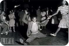 The Savoy Ballroom attracted Harlem's best dancers.