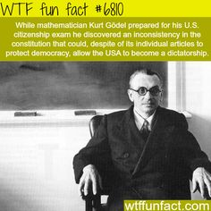 WTF Facts : funny, interesting & weird facts — Famous mathematician says the USA can turn into a...