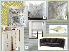 home office design board