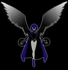 Raven from Teen Titans - Anslee wants her party based around this. Anslee will be turning 8. omg.
