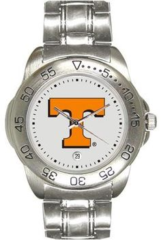 Tennessee Volunteers (University of) Mens Sports Steel Watch by SunTime. $49.95