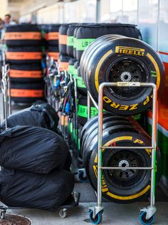 Pirelli tyres for the Sahara Force India F1 Team