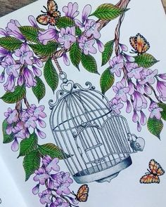 Instagram media kristin_sabik - New picture #blomstermandala #mariatrolle #stabilo #aquacolor Adult Coloring, Coloring Books, Coloring Pages, Birdcages, New Pictures, Color Inspiration, Twilight, Artworks, Flora