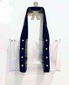 Clear Bag with Black Straps   Faire.com Clear Tote Bags, Bag Pins, Fashion Bags, Womens Fashion, Group, Board, Fashion Handbags, Women's Fashion, Woman Fashion