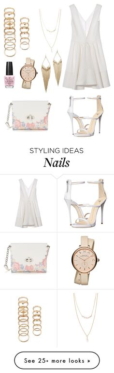 """Fly S*** Only"" by anishagarner on Polyvore featuring Marni, Forever 21, Candie's, OPI, Marc by Marc Jacobs, Giuseppe Zanotti, Jules Smith, beach and summerdate"