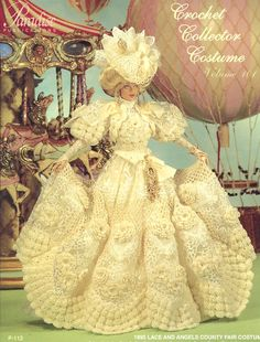 Image detail for -... County Fair Costume Paradise 101 Barbie Doll Crochet Pattern | eBay