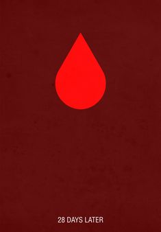 28 Days Later - minimal movie poster