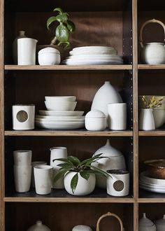 Sophie Harle of Shiko Ceramics | The Design Files | Bloglovin'