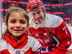 A father of two girls, TJ Oshie turned this family into Capitals superfans with his kindness Hockey Teams, Ice Hockey, Washington Capitals Hockey, Caps Game, Wish Kids, Stand Up Guys, Alex Ovechkin, Stanley Cup Champions, Carolina Hurricanes