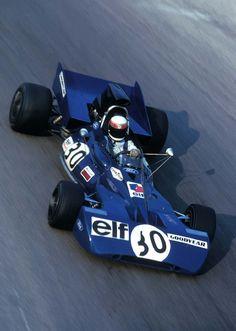 1971 Jackie Stewart, ELF Team Tyrrell, Tyrrell 003, Ford Cosworth DFV 3.0 V8