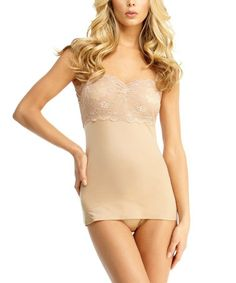 7beab47fac SlimMe by MeMoi Nude Lace Camisole