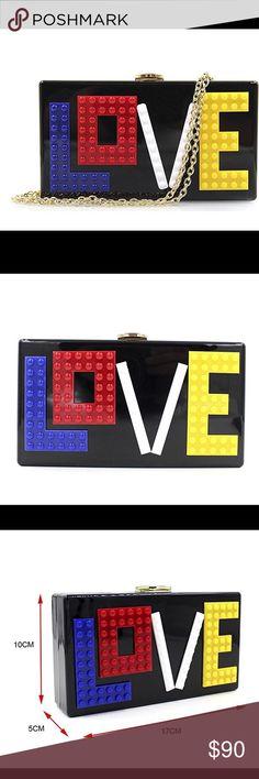 Love crossbody ⭐️🌺💕 Love crossbody or clutch ⭐️🌺💕 Bags Crossbody Bags