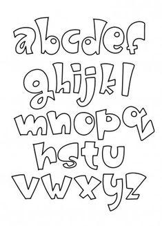 Calligraphy Fonts Alphabet, Hand Lettering Alphabet, Doodle Lettering, Graffiti Alphabet, Lettering Styles, Handwriting Fonts, Script Fonts, Penmanship, Monogram Fonts