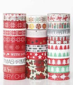 washi tape christmas designes $1.45 each