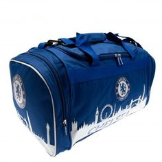 Spacious Chelsea FC holdall in club colours and featuring the club crest - not only functional but looks great too! FREE DELIVERY ON ALL OF OUR GIFTS