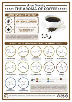 Why coffee smells so good......