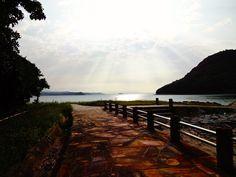 天草 amakusa 樋合島から高杢島