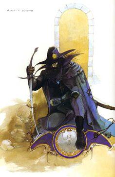 Vampire Hunter D   by  Yoshitaka Amano