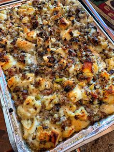 World's Best Stuffing - Chateau Dumplings - Creator Of The World's Best Dumplings - April Hitchman - Holidays Stuffing Recipes For Thanksgiving, Thanksgiving Sides, Holiday Recipes, Christmas Recipes, Best Turkey Stuffing, Thanksgiving Casserole, Chicken Stuffing, Dressing For Thanksgiving, Potato Stuffing Recipes