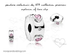 Pandora Valentine's 2018 collection Explosion of Love silicone