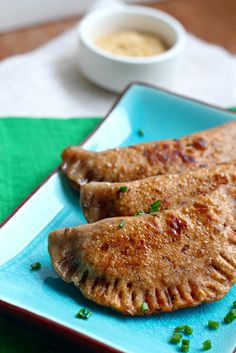 I doubt I will ever make these, but they look delicious: Pastrami on Rye Pot Stickers