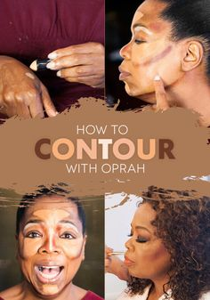 What Happened When Oprah Tried Contouring || Oprah's makeup artist extraordinaire, Derrick Rutledge, explains how to easily create instant cheekbones through the art of contouring.