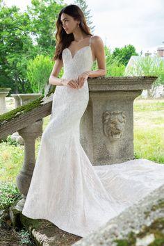 Lazaro Style 3857 Elisa Bridal Gown